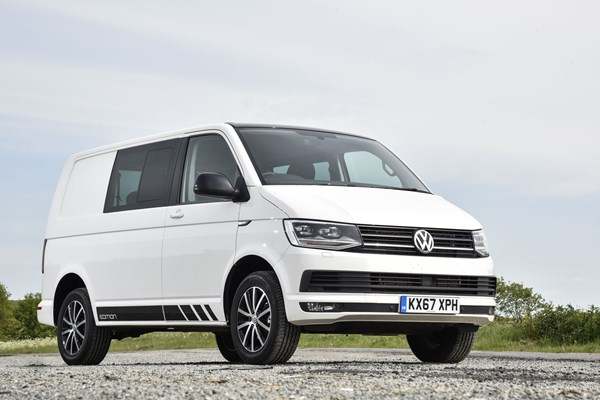 4505ca23a0 VW Transporter Edition kombi 150 TDI review - a stylish van with stacks of  kit