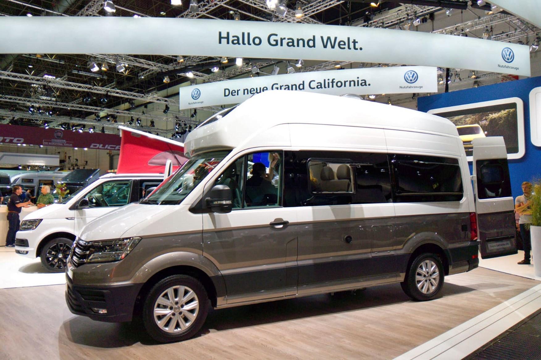 volkswagen grand california campervan based on vw crafter. Black Bedroom Furniture Sets. Home Design Ideas