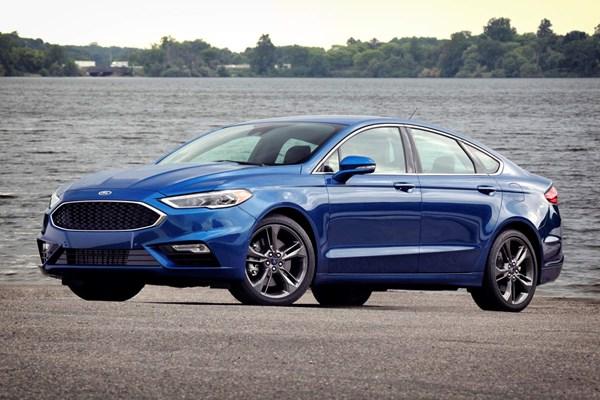Ford Fusion Sedan facelift