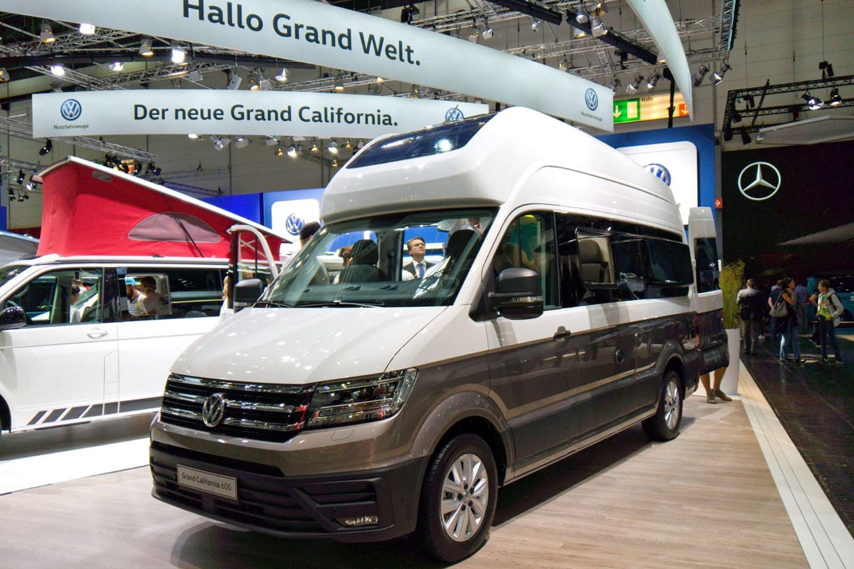 Vw California Xxl For Sale >> Campervan show stars - highlights from 2018 Caravan Salon Dusseldorf | Parkers