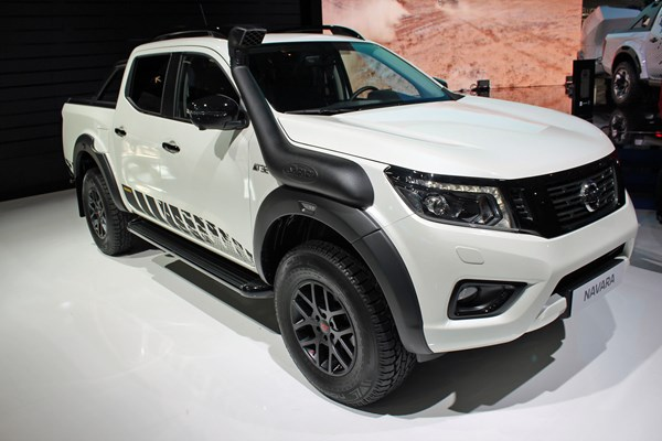 Nissan Navara N Guard Special Edition Pickup At The 2018 Iaa