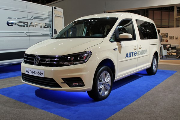 Vw Abt E Transporter And Caddy At Cv Show 2019