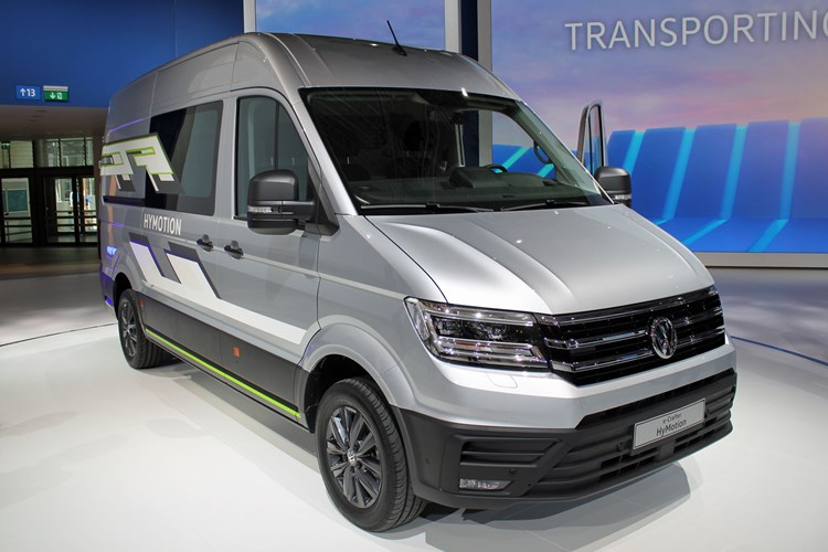 VW Crafter HyMotion concept - front view