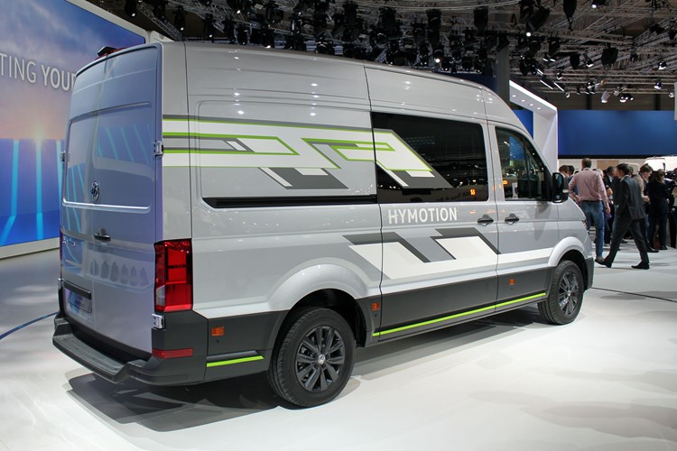 VW Crafter HyMotion concept - rear view