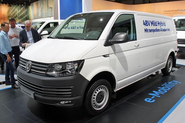 VW's hybrid Transporter revealed