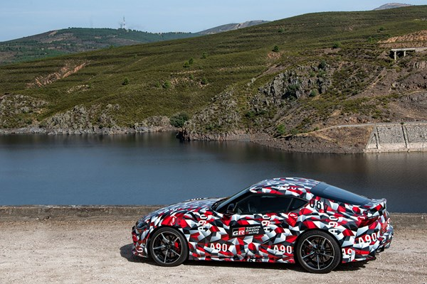 2019 Toyota Supra early drive review