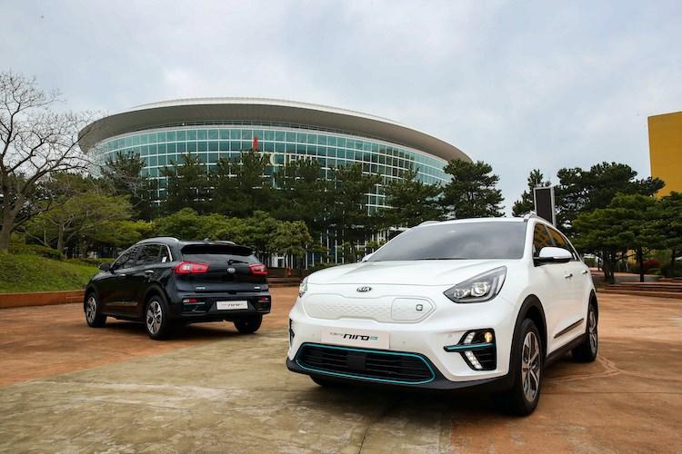 Best electric cars: Kia e-Niro (2020)