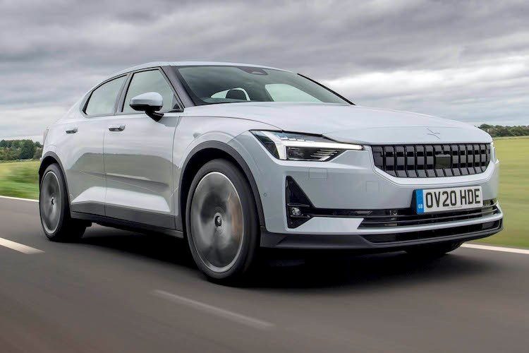 Best electric cars: Polestar 2 (2021) driving
