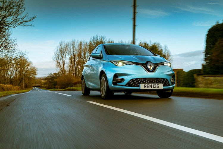 Best electric cars: Renault Zoe (2020) front view