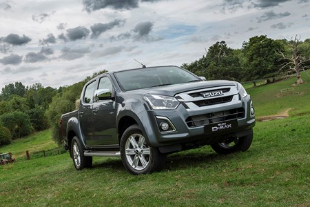 isuzu updates d-max pickup range with new equipment and increased