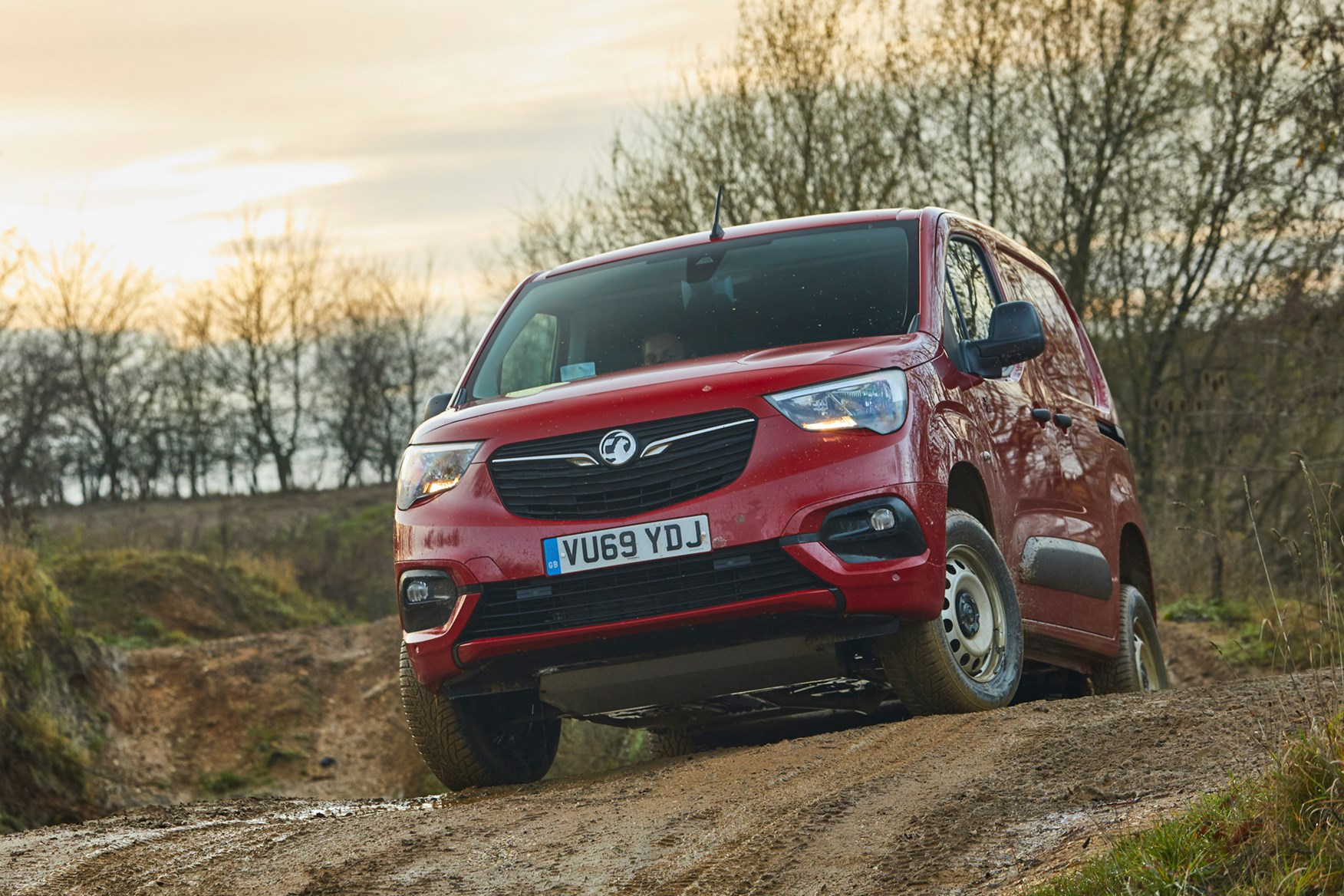 Vauxhall Combo Cargo 4x4 driving off-road