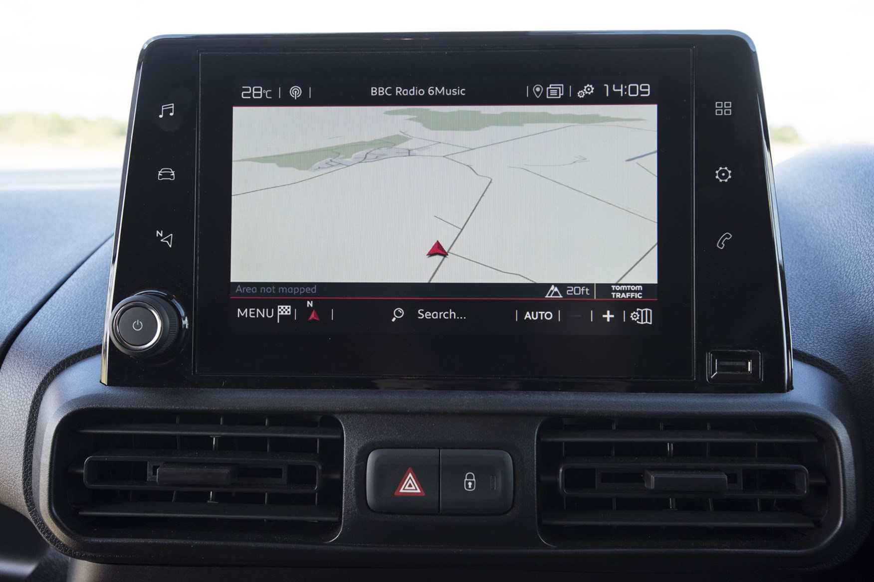 Citroen Berlingo van review - 2019 model, infotainment screen