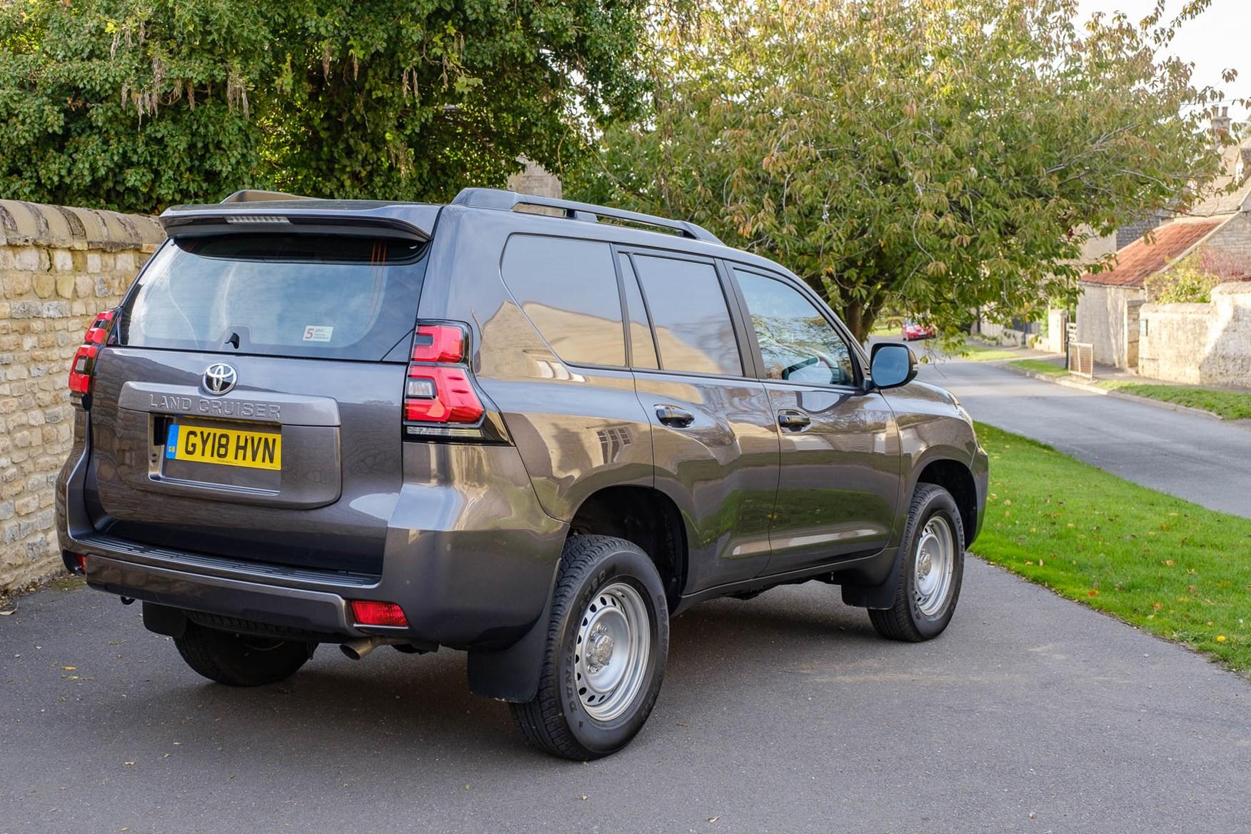 Toyota Land Cruiser Utility - LWB - rear side