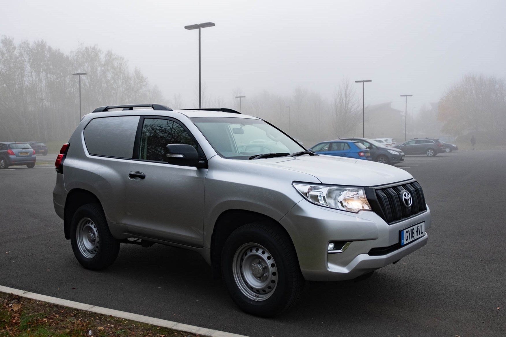 Toyota Land Cruiser Utility - SWB - foggy