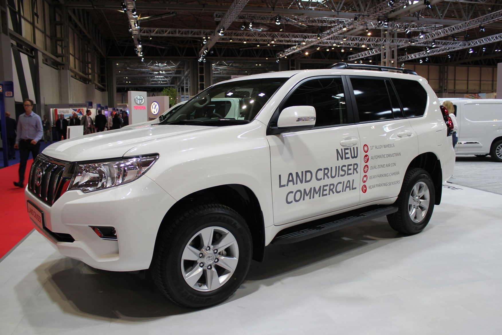 Toyota Land Cruiser Active Commercial launched at the CV Show 2019
