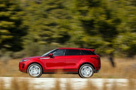 Range Rover Evoque On The Road