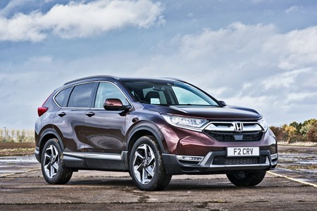 Honda CR-V SUV vs rivals   Parkers