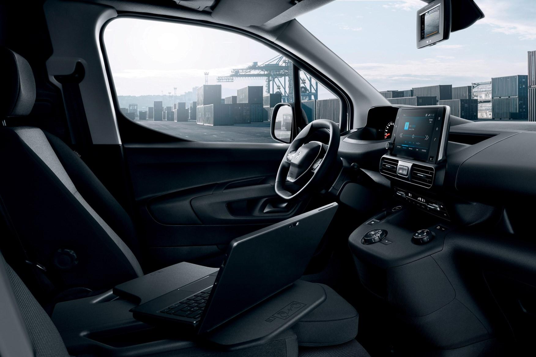 Peugeot Partner review 2020, i-Cockpit, view from passenger side