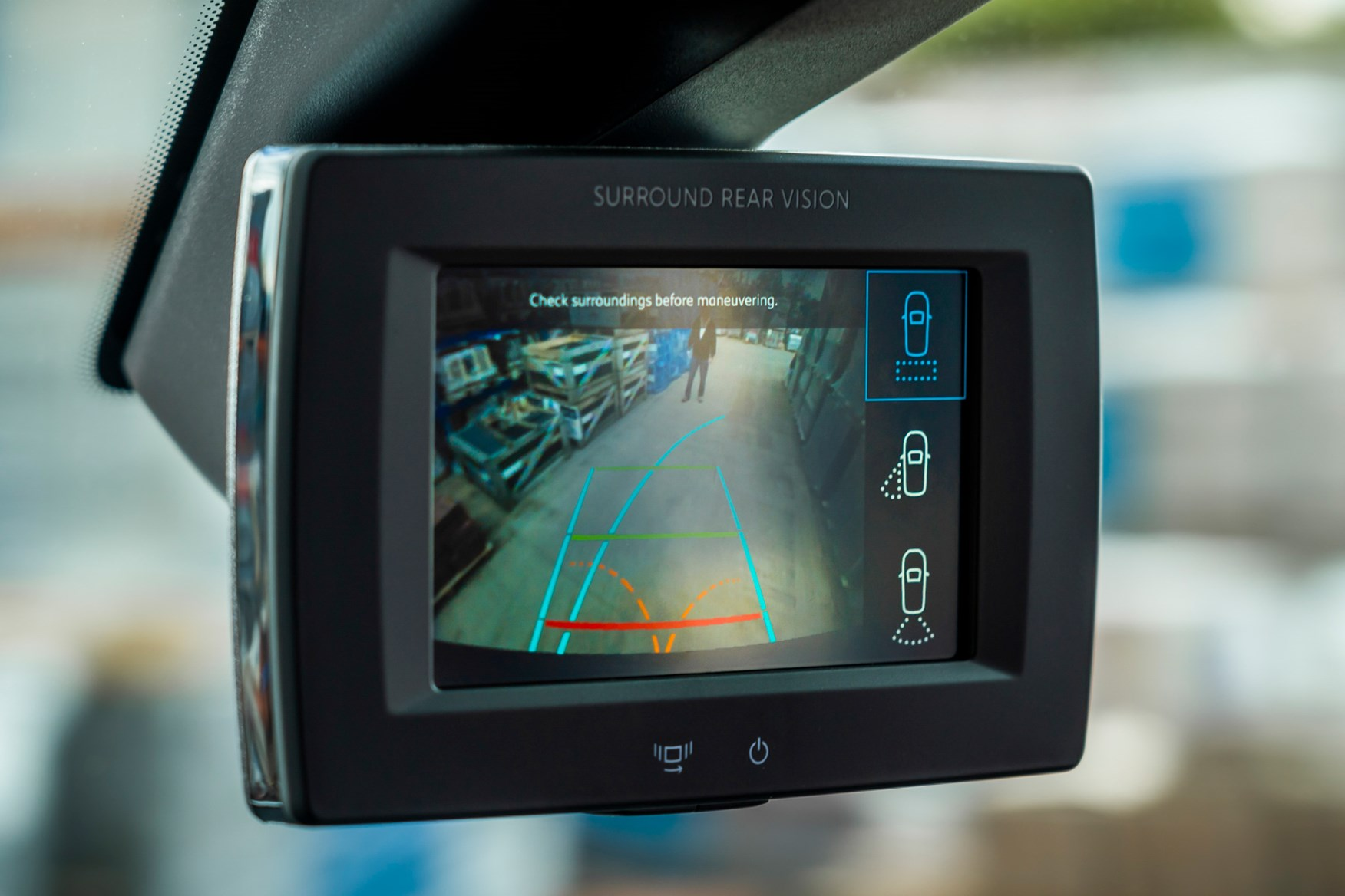 Peugeot Partner review 2020, rear-view camera system