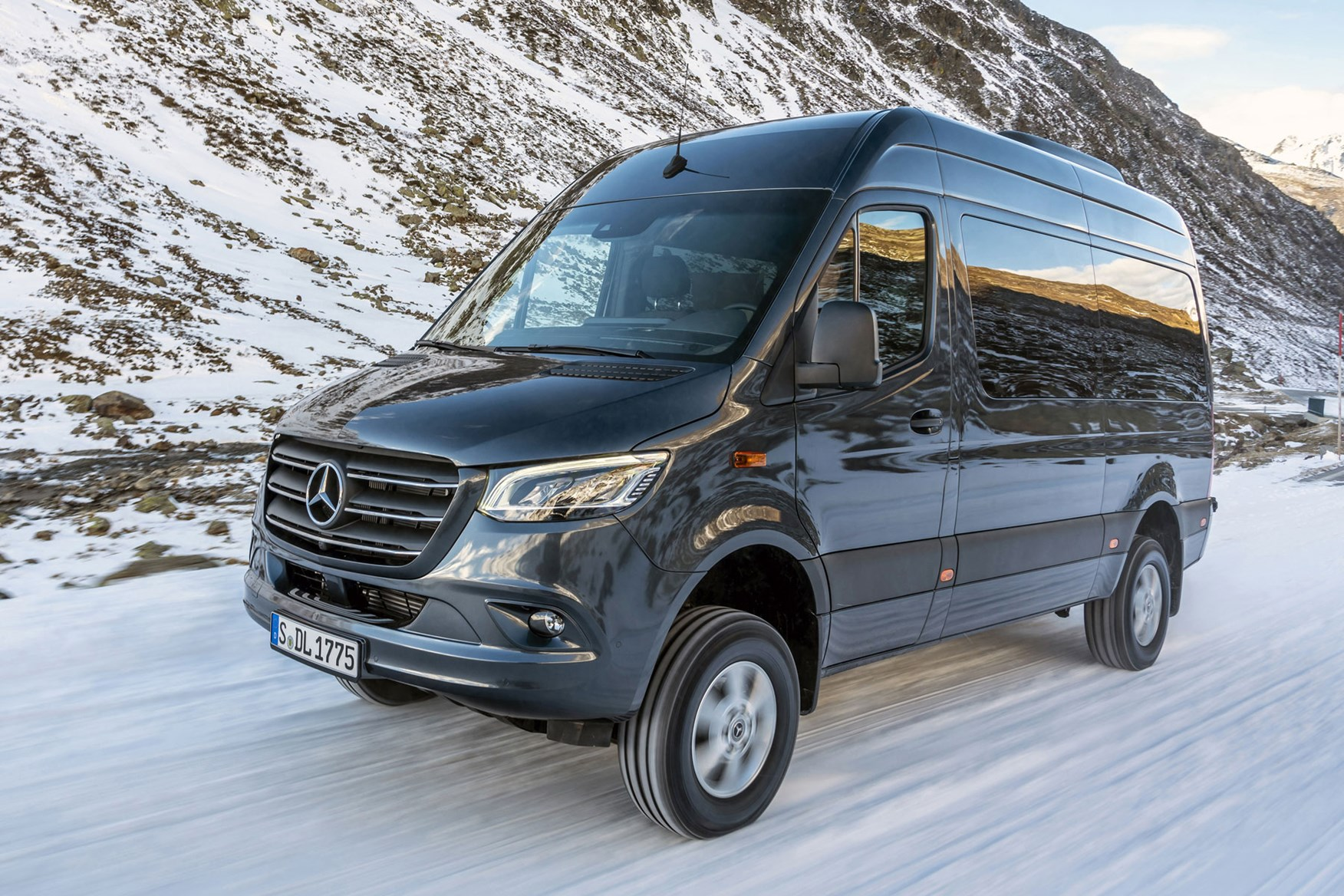 New Mercedes Sprinter Awd 4x4 Pricing And Specification Parkers