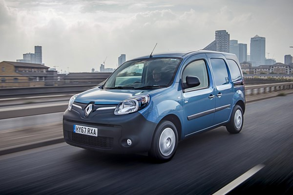 Renault Kangoo ZE review
