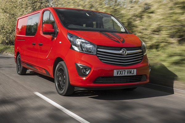 Vauxhall Vivaro Limited Edition Nav review