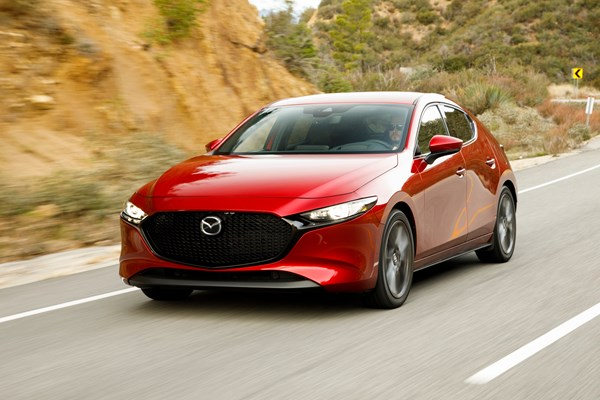 The 2019 Mazada 3 hatchback is fantastic to drive
