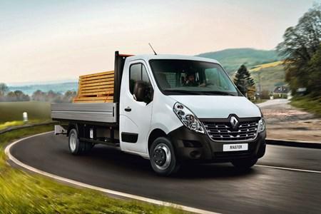 New Renault Master Luton Box Van and Aluminium Tipper range