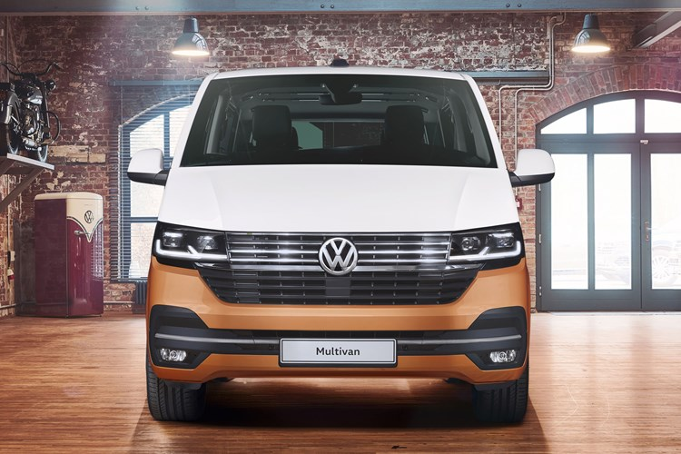 2019 VW Transporter T6.1 facelift - Multivan Caravelle front view