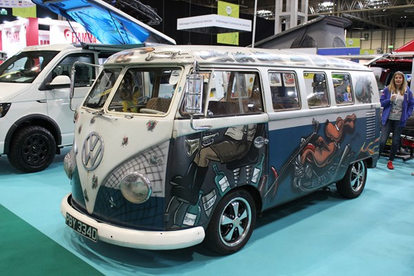 Campervans at the 2019 Caravan, Camping and Motorhome Show | Parkers