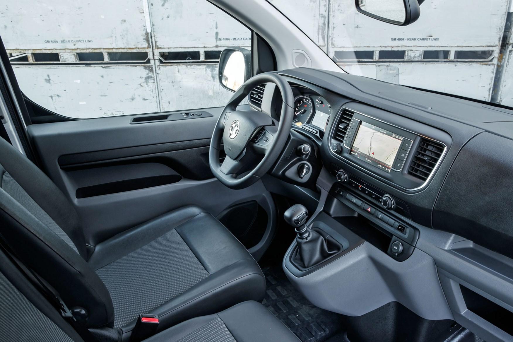 Vauxhall Vivaro review - cab interior