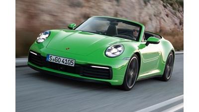 Porsche 911 Cabriolet Carrera S PDK auto 2d