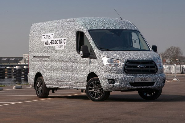 Electric RV -  Electric Ford Transit van