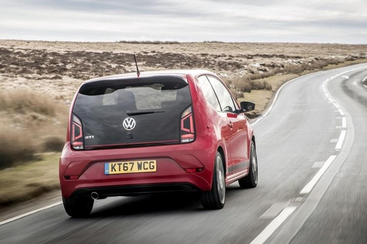 2017 Volkswagen Up rear