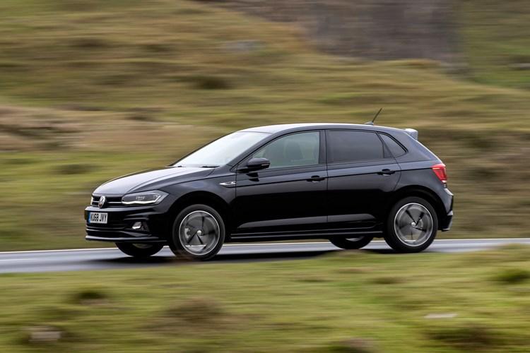 2018 black Volkswagen Polo