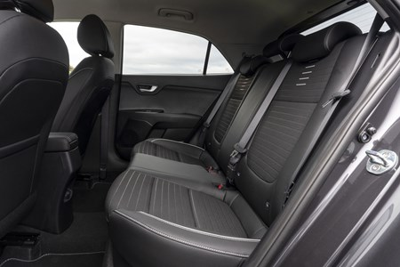 Kia Rio 2020 Practicality Boot Space Dimensions Parkers
