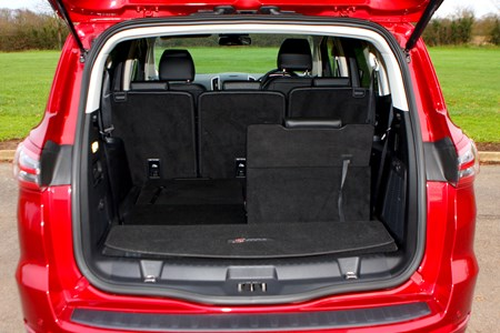 Ford S Max 2020 Practicality Boot Space Dimensions Parkers