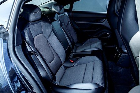 Porsche Taycan 2020 Practicality Boot Space Dimensions Parkers