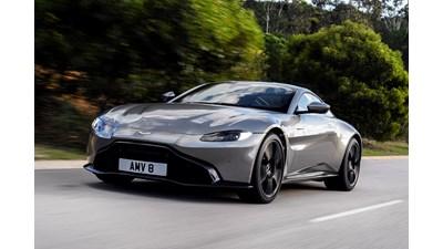 Aston Martin Vantage Coupe V8 auto 2d