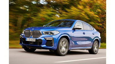 BMW X6 4x4 xDrive30d M Sport (Plus Package) Sport Automatic 5d