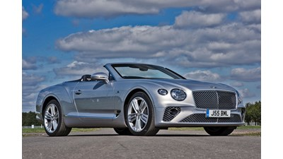 Bentley Continental GT Convertible auto 2d