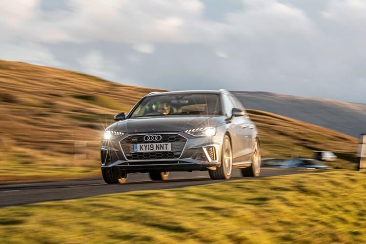 2019 Audi A4 Avant driving