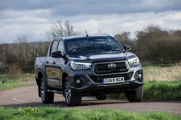 2020 Toyota Hilux driving