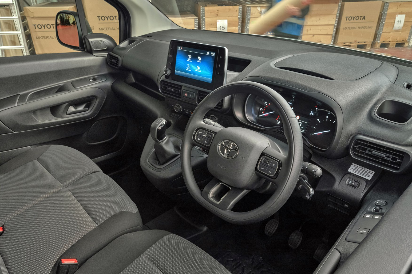 2020 Toyota Proace City review - cab interior