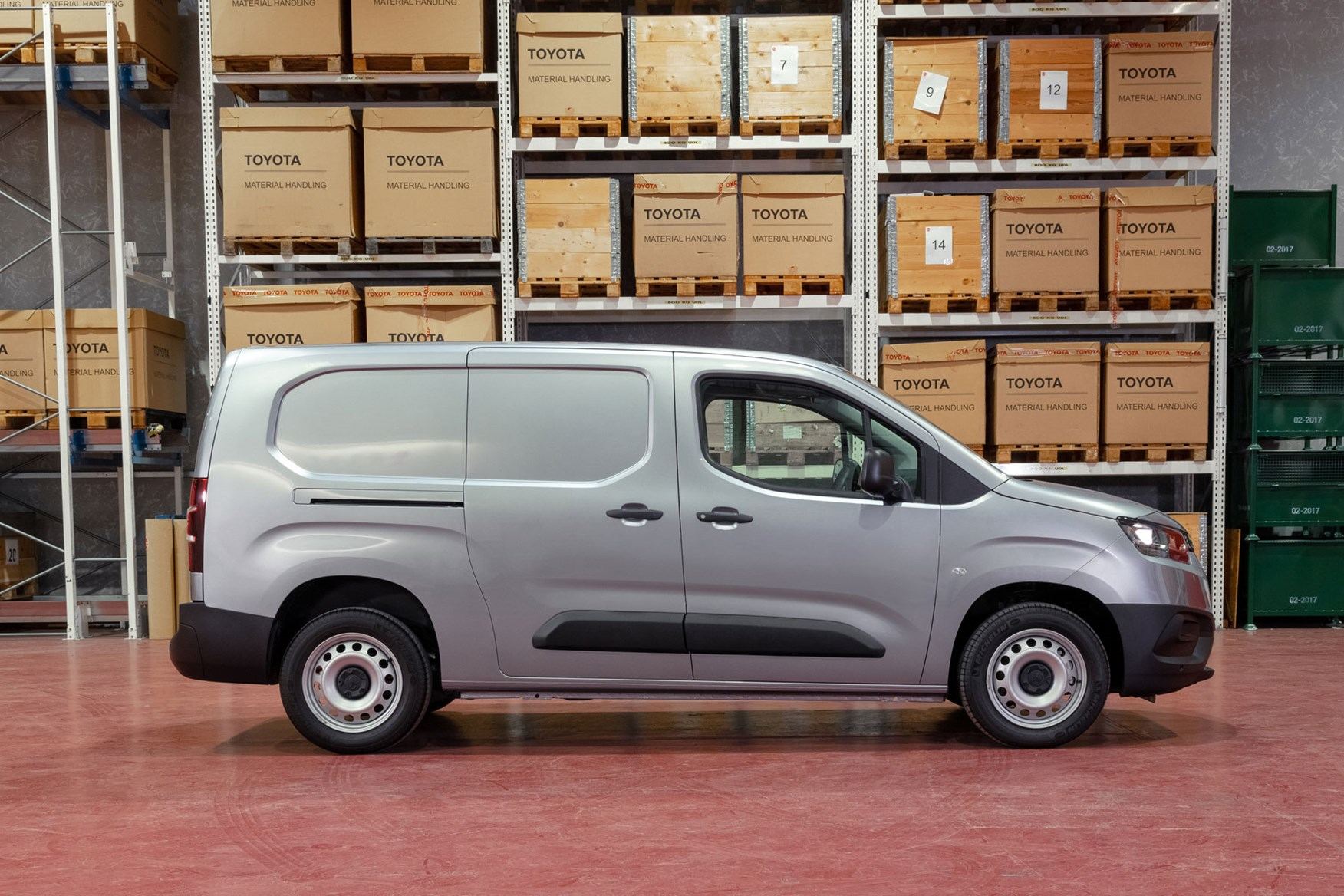 2020 Toyota Proace City review - LWB, side view, silver