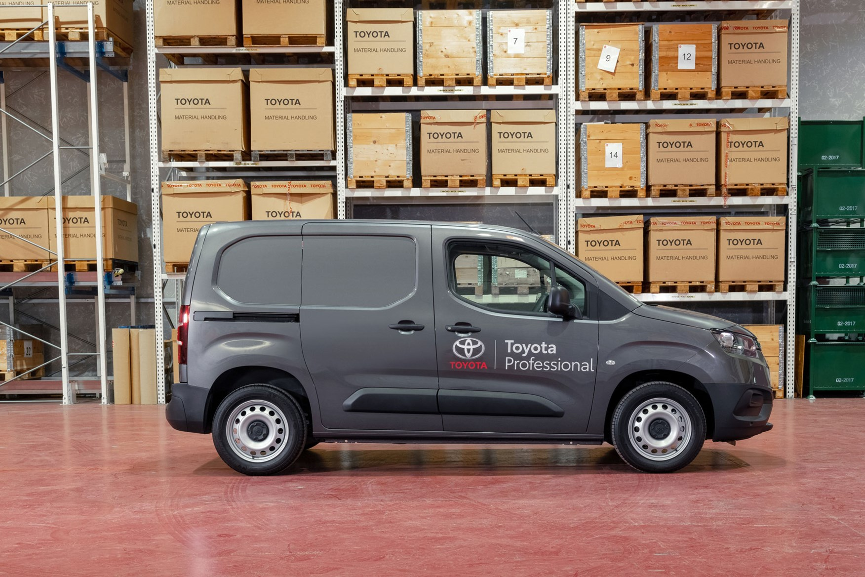 2020 Toyota Proace City review - SWB, side view, grey