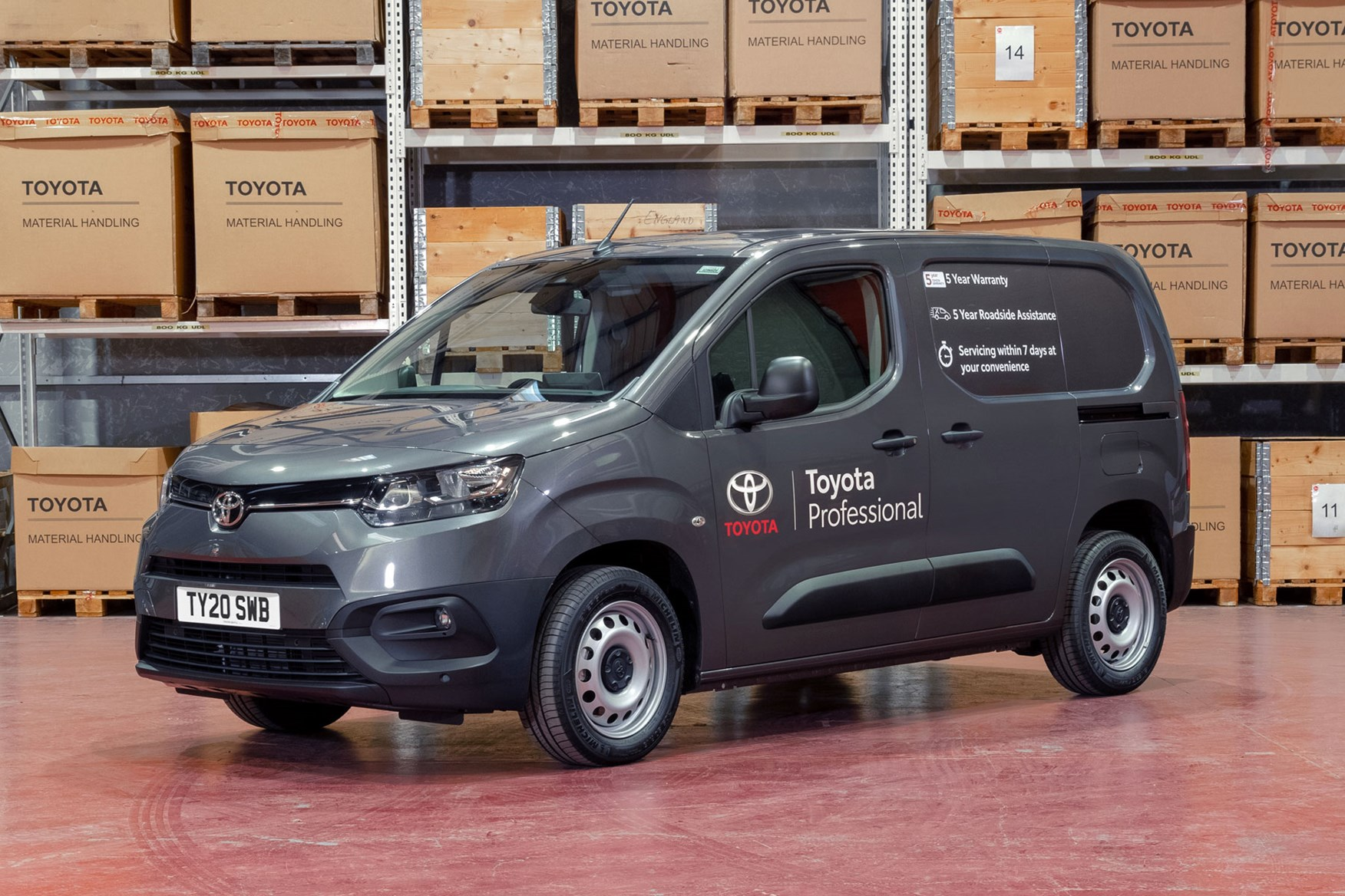 2020 Toyota Proace City review - SWB, front view, silver