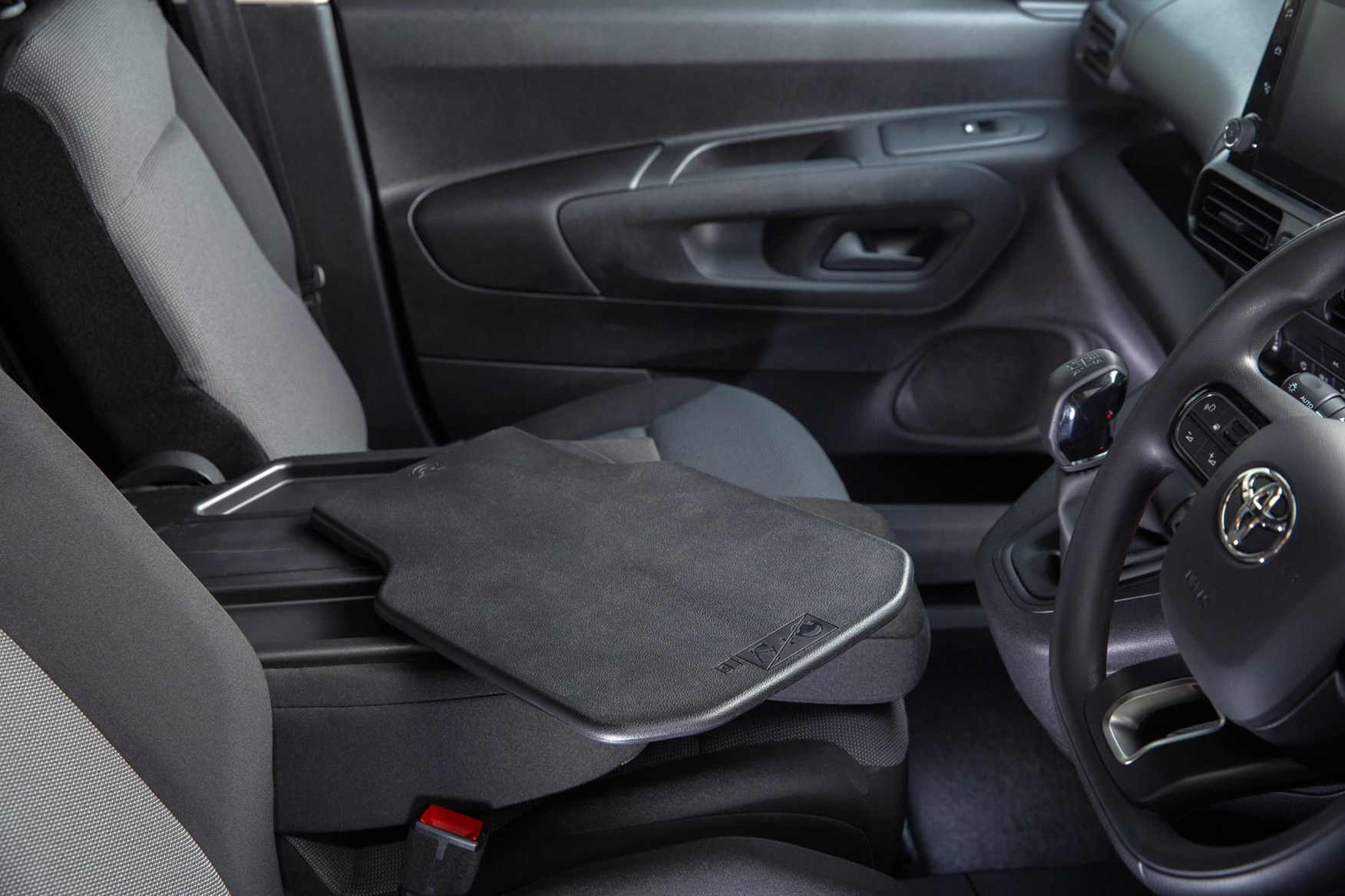2020 Toyota Proace City review - cab interior, mobile office