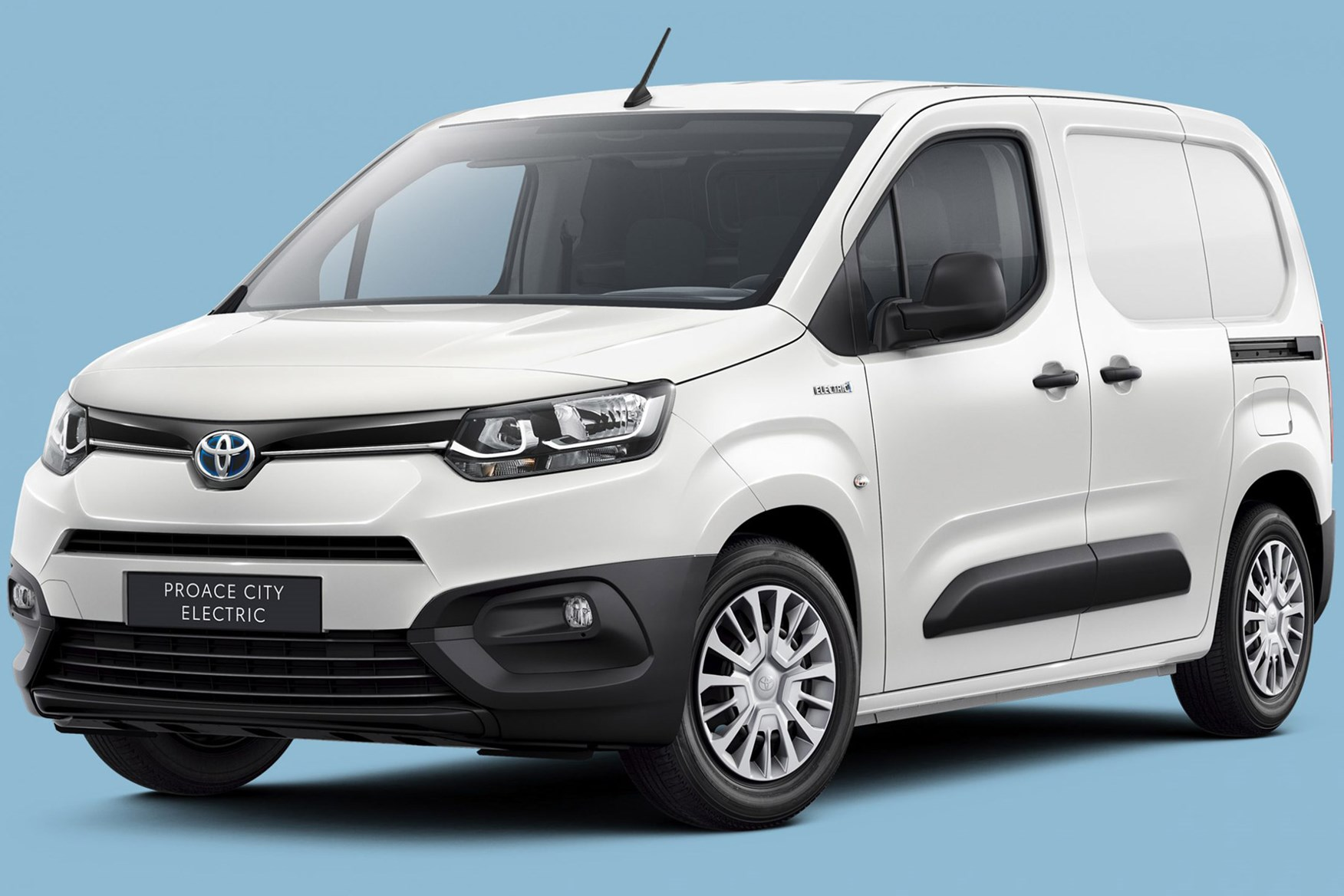 Toyota Proace City Electric van on sale in 2021