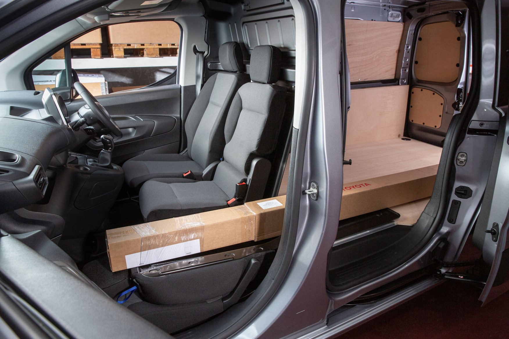 2020 Toyota Proace City, interior, showing Smart Cargo